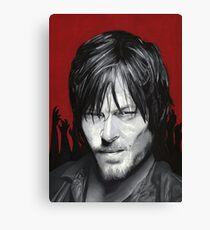 Daryl Dixon. The Walking Dead Canvas Print