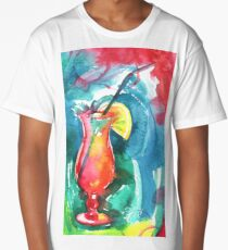 Cocktail Long T-Shirt