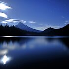 Lost Lake Found At Night by Ran Richards