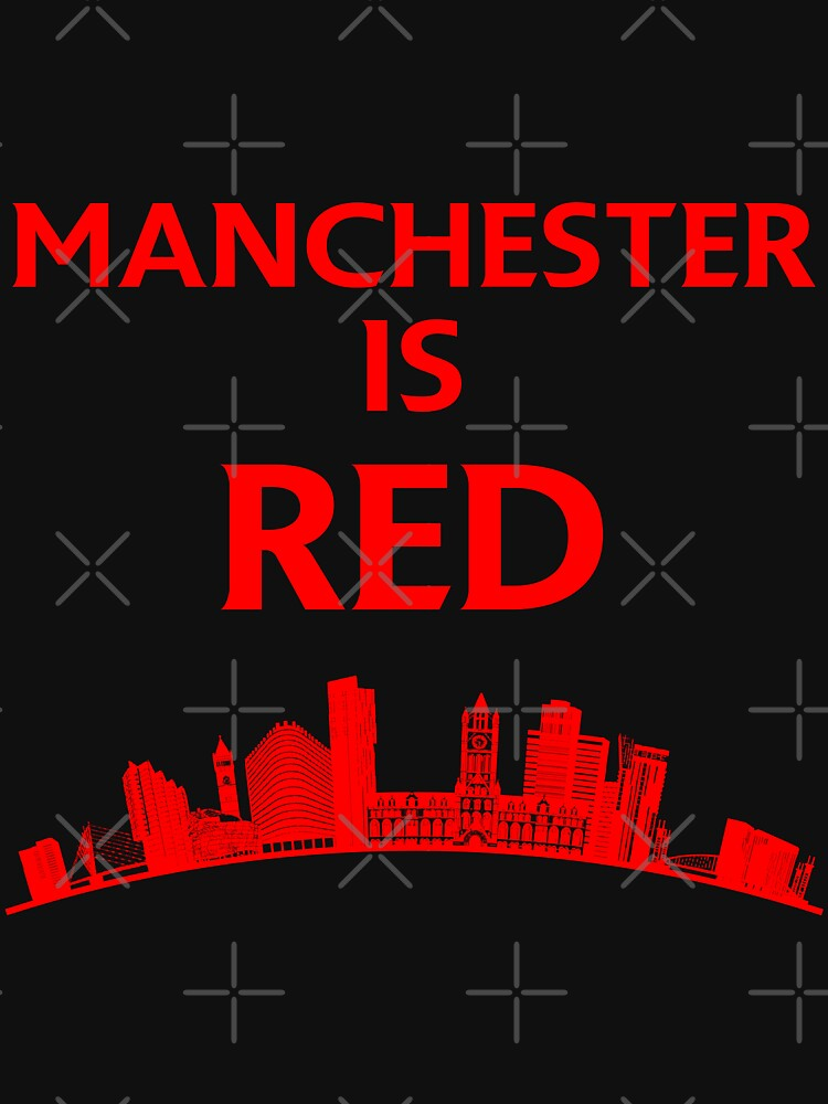 Manchester is red United by ideasfinder