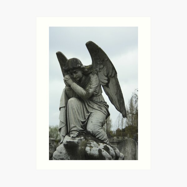 Grave Angel Art Print