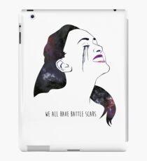 Raven Reyes - We All Have Battle Scars iPad-Hülle & Klebefolie