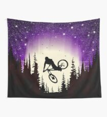 Moon Whip Wall Tapestry