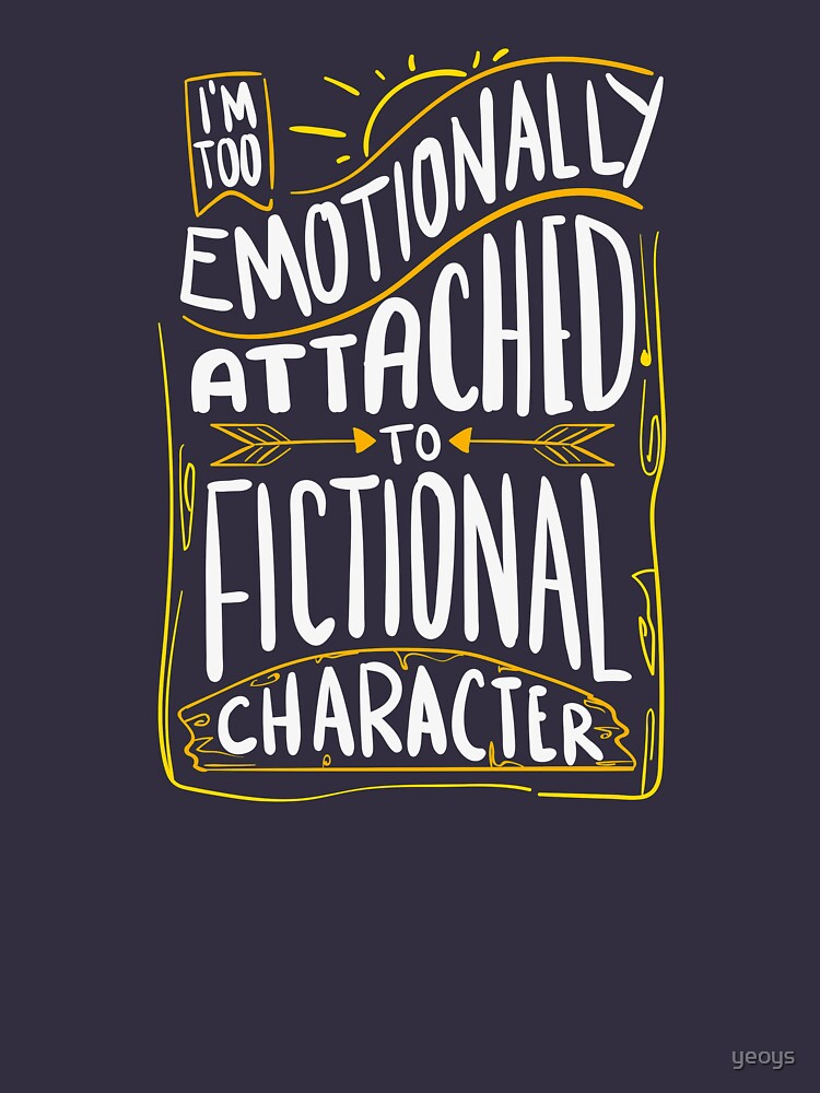 Emotionally Attached To Fictional Characters - Furry Fandom Gift von yeoys