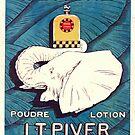 Vintage Parfum Paris Elephant by mindydidit