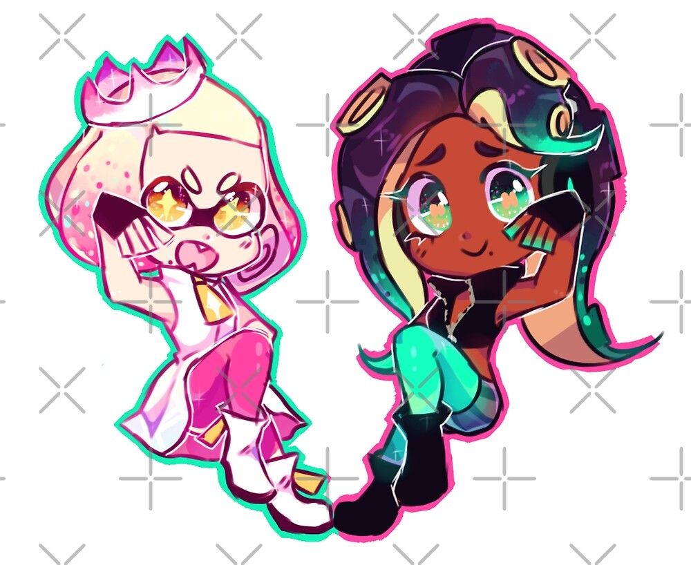 Pearl and Marina by PearlChan