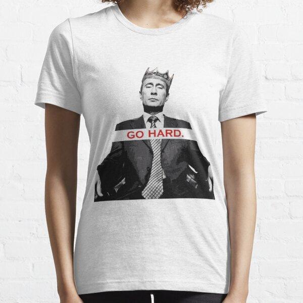 Hart wie Vladimir Putin Essential T-Shirt