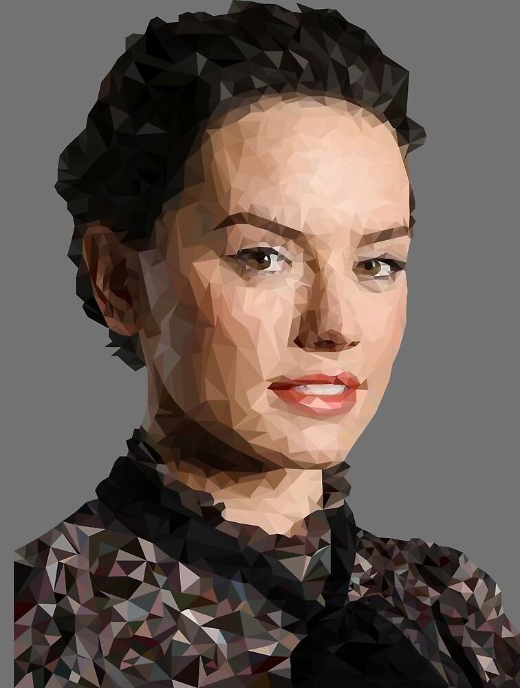 Poly Art Ridley by katmarvel12