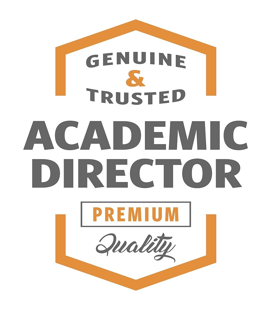 Academic Director T-shirt | Gift Ideas by alececonello
