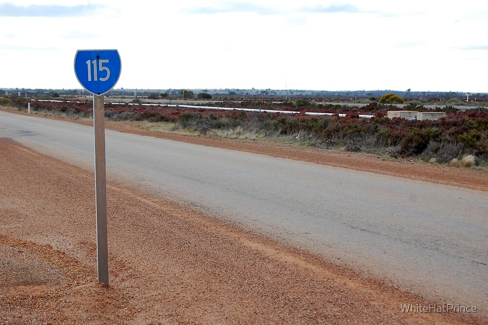 State Route 115 Sign by WhiteHatPrince