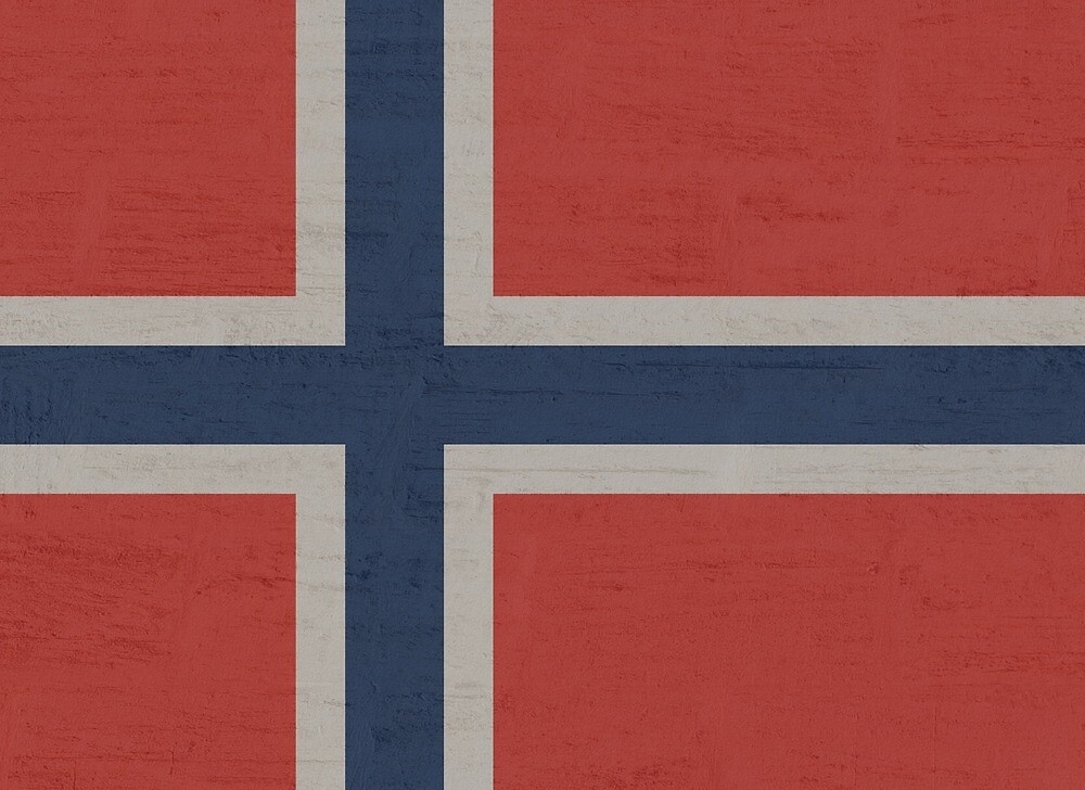 Norway Stone Wall Flag by PRODUCTPICS
