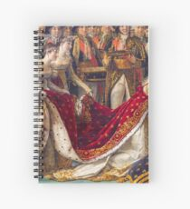 Crowning of the Empress Josephine Spiral Notebook
