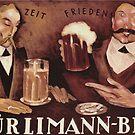 Vintage Beer Poster by mindydidit