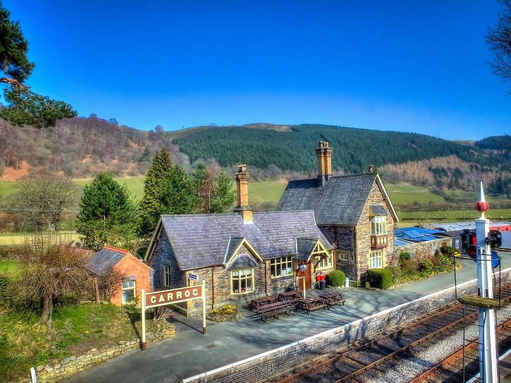Carrog Railway Station by Catchavista