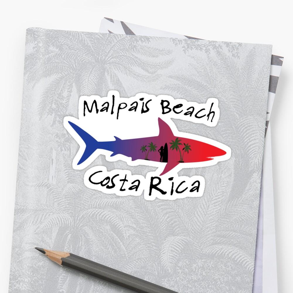 Malpais Beach Costa Rica Shark by RBBeachDesigns
