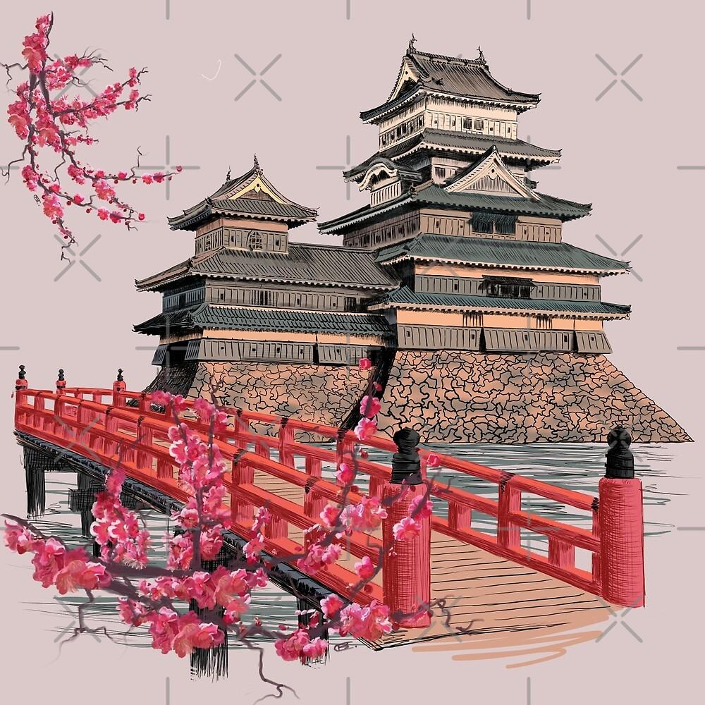 pagoda by Sibo Miller