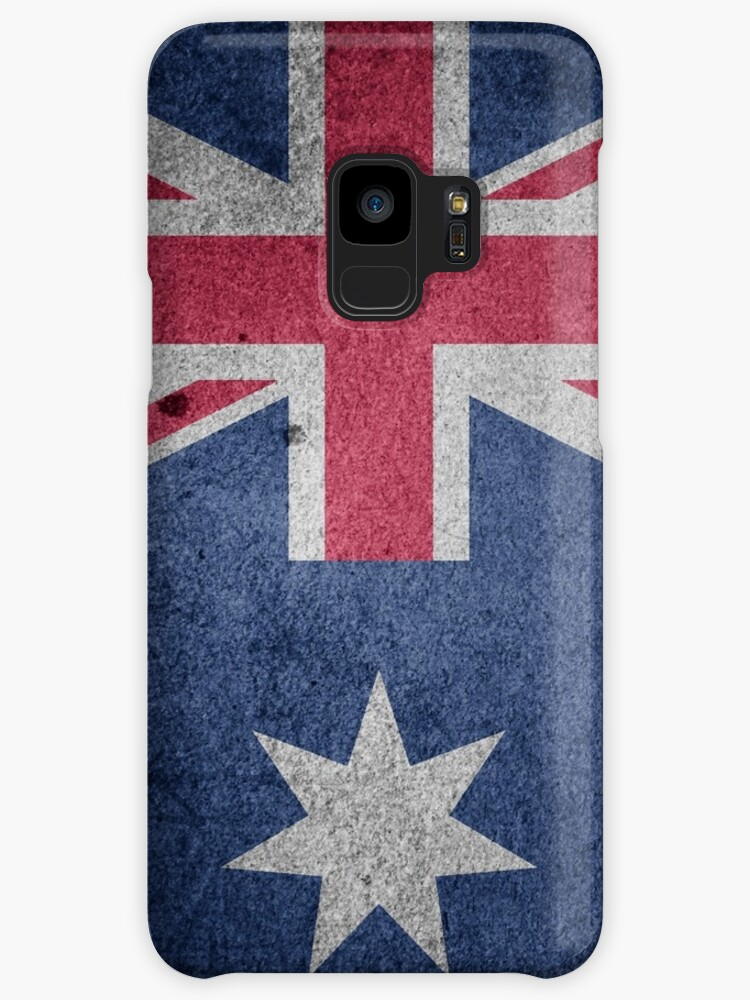 Vintage Grunge Australia Flag by PRODUCTPICS