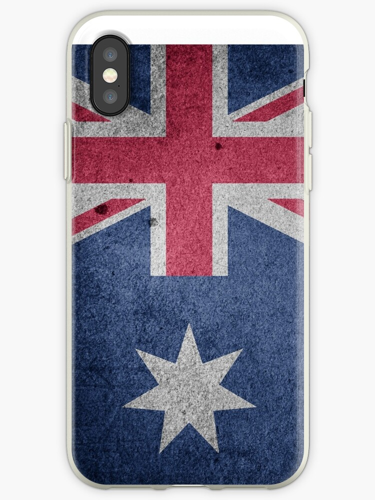 Vintage Grunge Australia Flag by PRODUCTPICS
