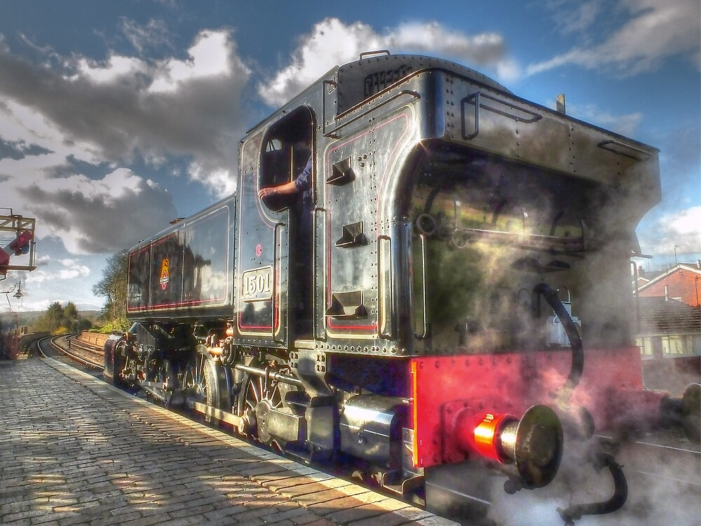 Steam Engine No.1501 by Catchavista