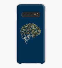 Neuroscience Superhuman Brain - Funny Nerdy Gift Hülle & Klebefolie für Samsung Galaxy