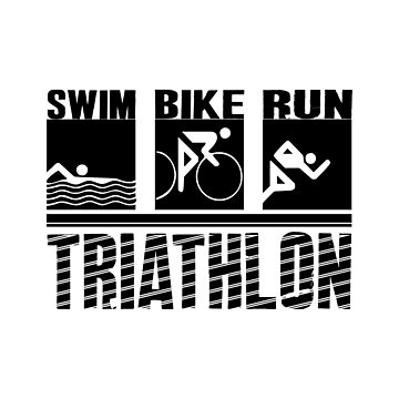 Swim, Bike, Run- Triathlon  by SmartStyle