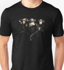 Speak no Evil, See no Evil, Hear no Evil. Unisex T-Shirt
