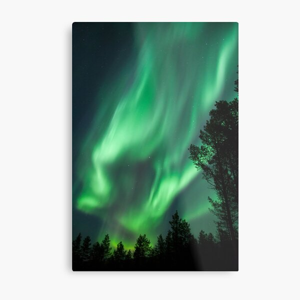 Northern Lights IX Metal Print