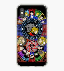 Fullmetal Alchemist Stained Glass iPhone Case