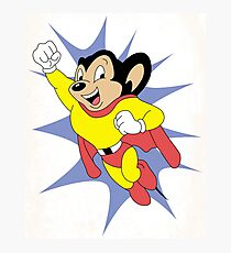 Mighty Mouse  Photographic Print