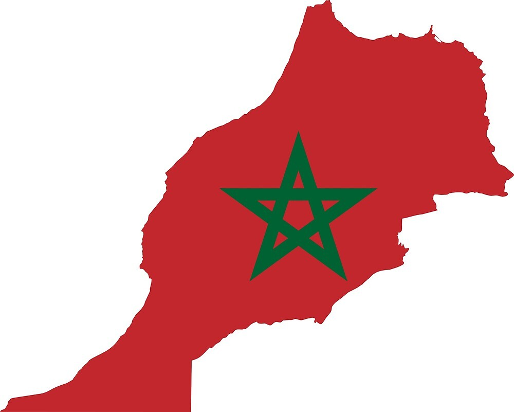 Morocco Continent Flag by PRODUCTPICS