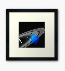 Echoes of intergalactic consumerism Framed Print