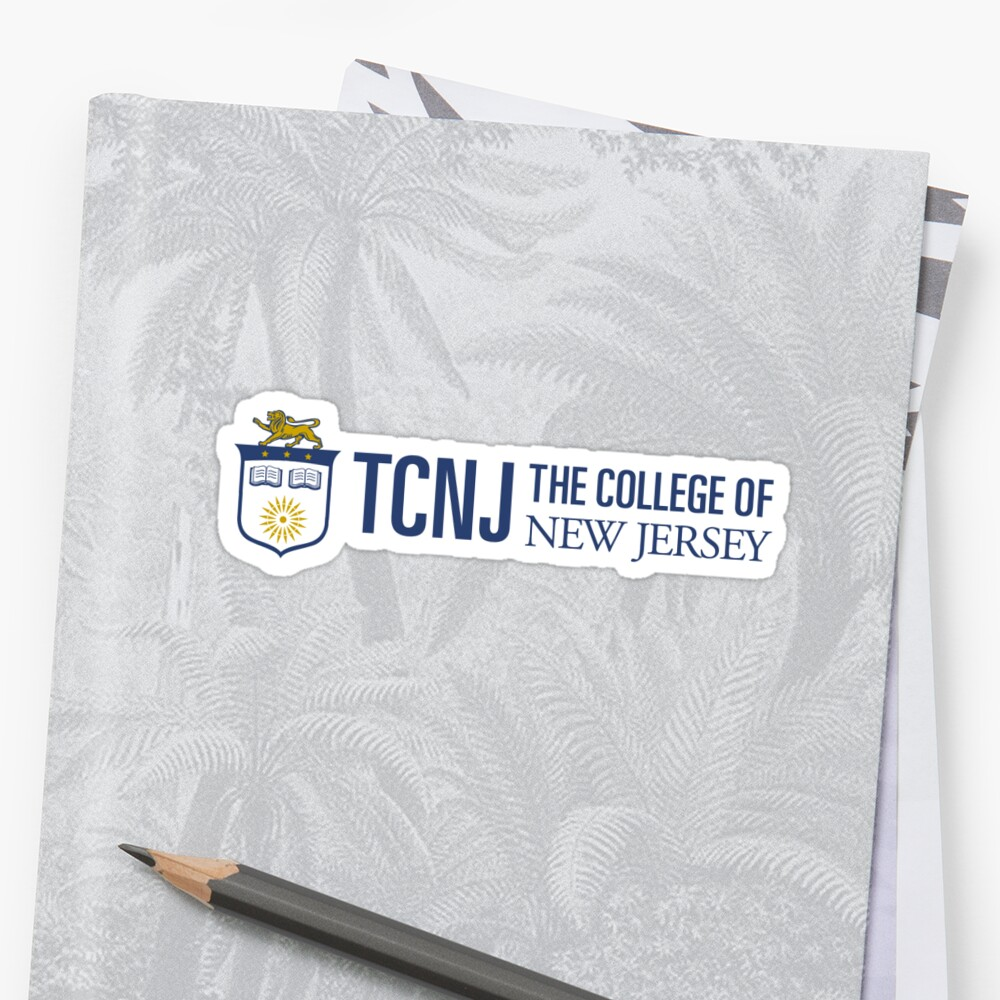 small tcnj sticker by kourtnicarty