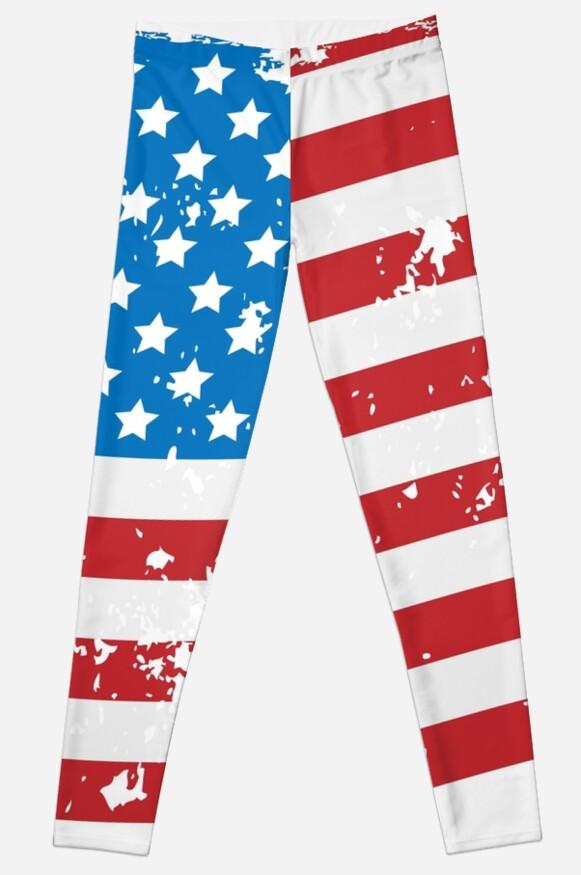 United States of America Grunge Flag by poisondesign