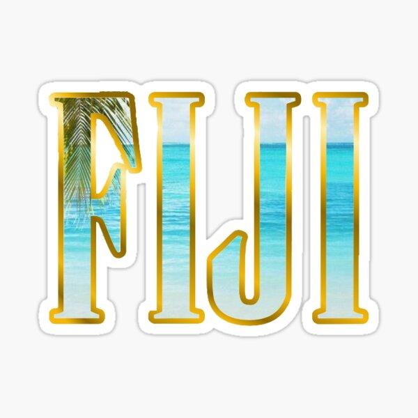 FIJI Beach  Sticker