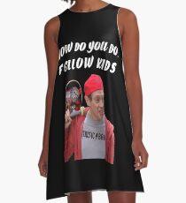 How Do You Do, Fellow Kids A-Line Dress