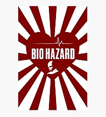 Resident Evil BIOHAZARD LOVE Photographic Print