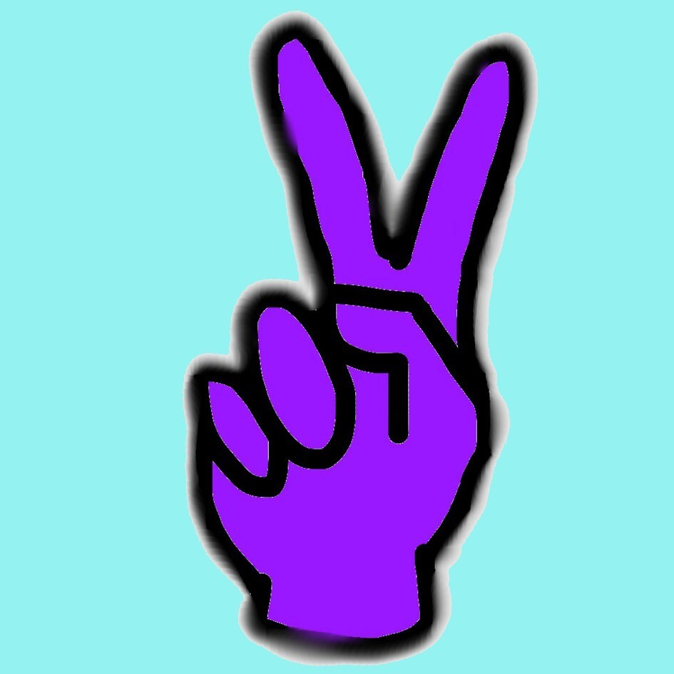 Peace sign by shesaidshesaid
