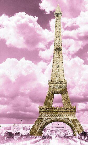 Paris Pink and Gold by mindydidit