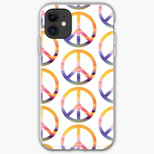 Peace Out iPhone Soft Case