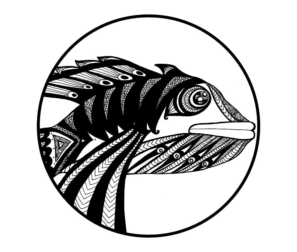 Circle Fish by margheberga