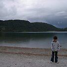 In front of the lake... by Maryanne Fenech-Gatt