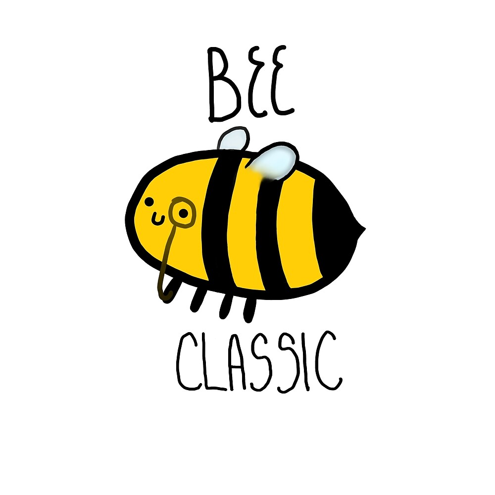bee classic - cute bee by maria-asl