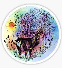 Cosmic Deer  Sticker