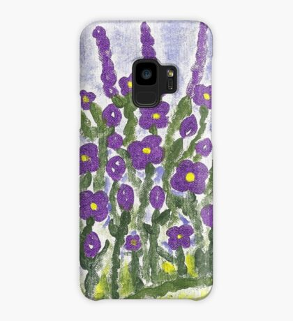Painted Purple Case/Skin for Samsung Galaxy