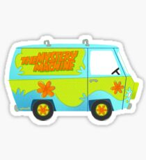 Mystery Machine Sticker