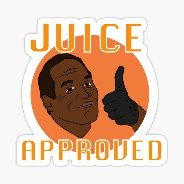 Juice Approved Sticker