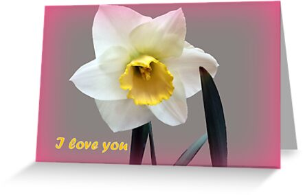 I love you beautiful and original by Tamariko