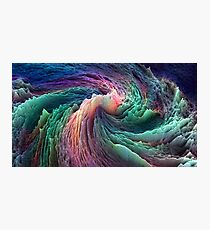 Abstract Data Photographic Print
