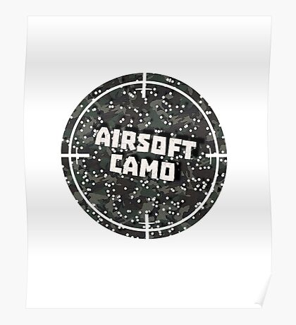Airsoft Camo Poster