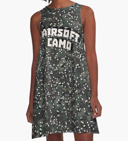 Airsoft Camo A-Line Dress